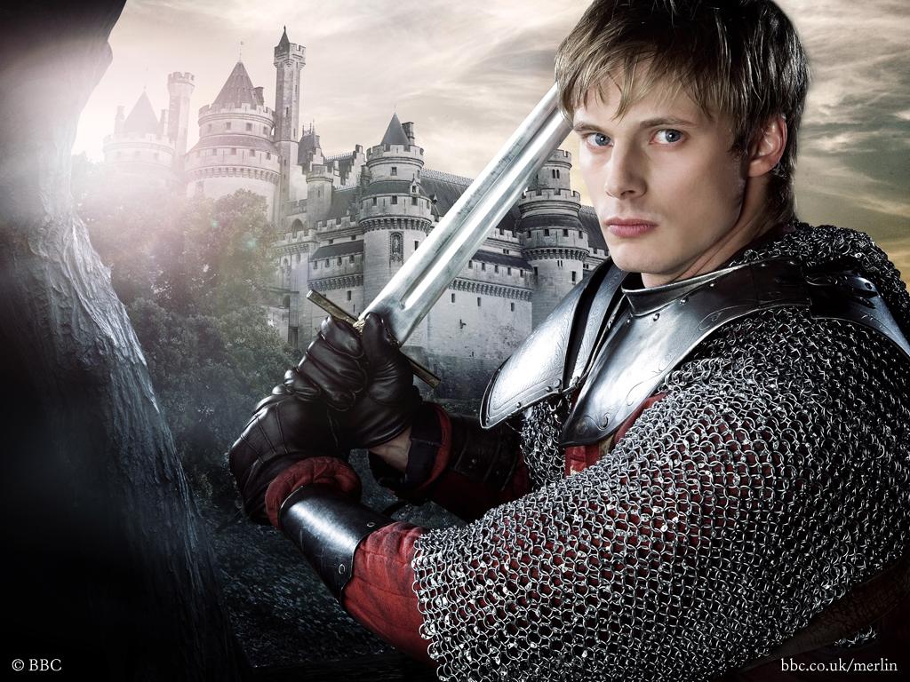 Bradley James as ArthurKing Arthur And Merlin
