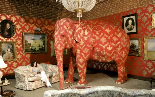 Banksy's 'Elephant In The Room'