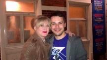 Sarah Lancashire and I - Autumn 2011