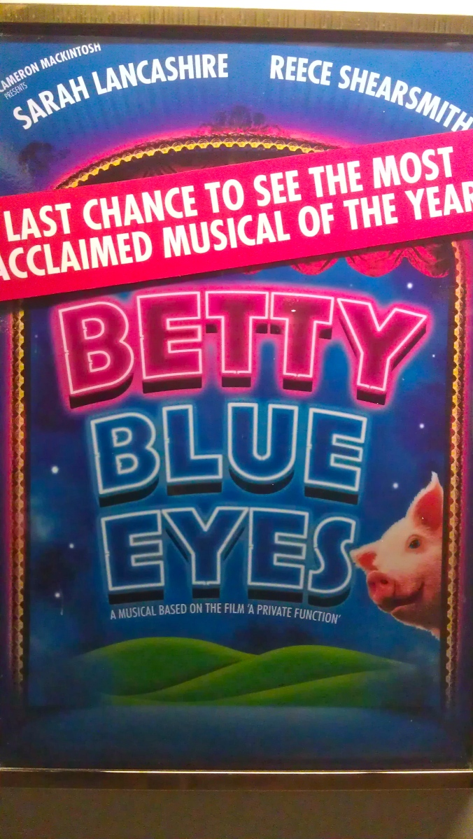 A last goodbye to Betty Blue Eyes... perhaps!