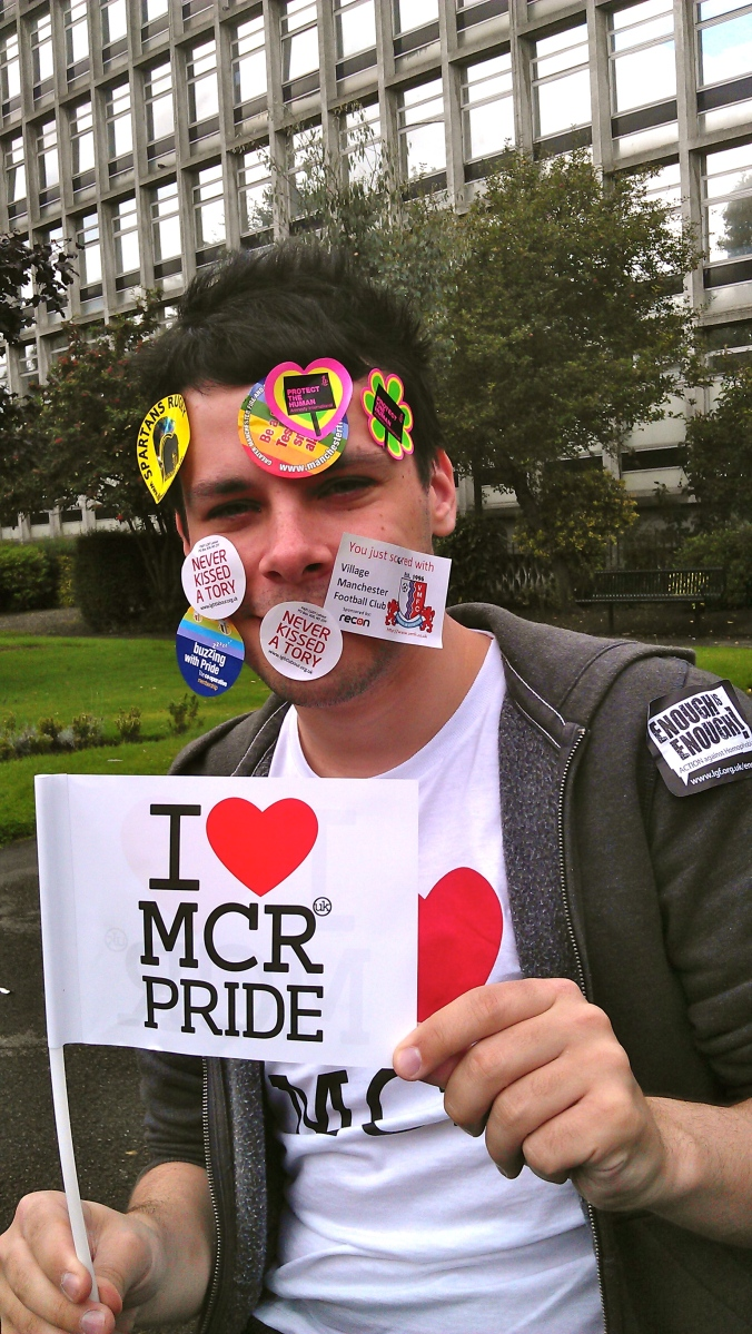 28, Gay, Mancunian - but not going to Manchester Pride!
