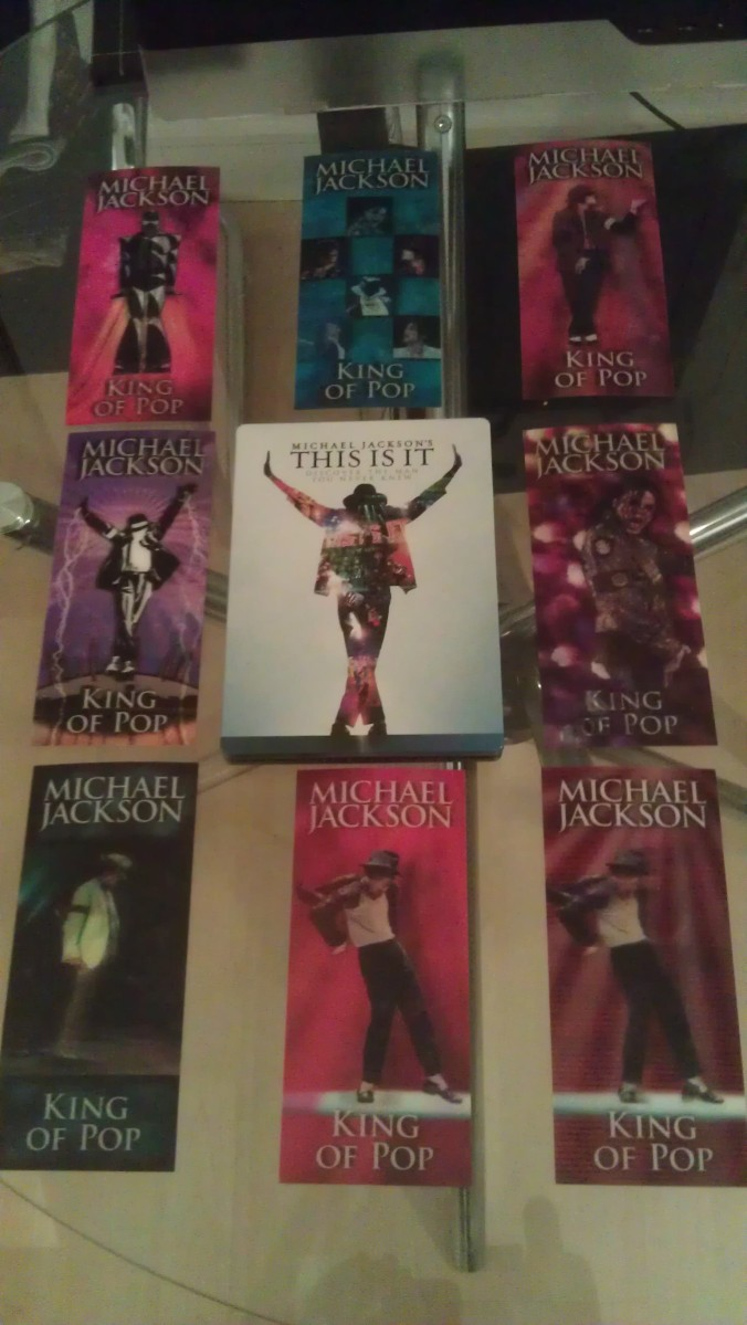 I now have a full set of MJ 'This Is It' tour tickets - WHOOT!