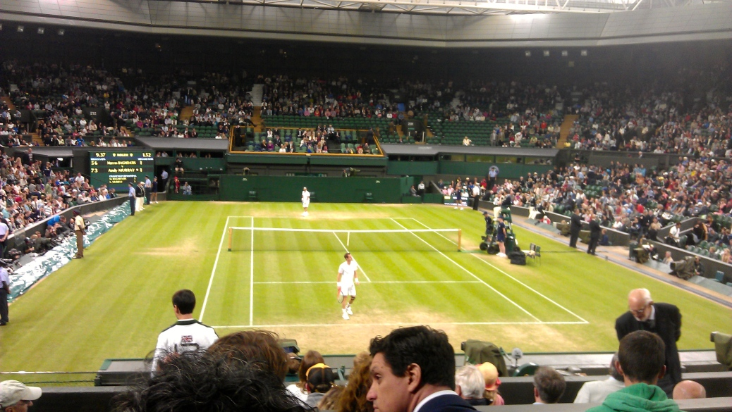 Murray and Baghdatis - Saturday 30 June