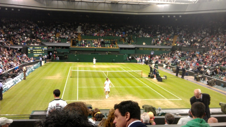 Murray and Baghdatis - Saturday 30 June