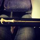 I bought Voldemort's Wand... and a Hufflepuff badge - go figure!!! ;)