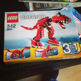Lego dinosaurs!