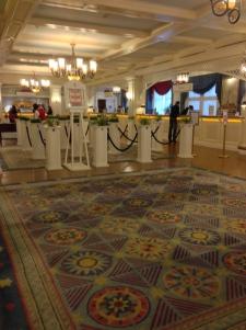 Inside the Newport Bay Club Hotel