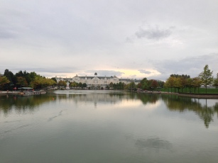 View over Lake Mickey