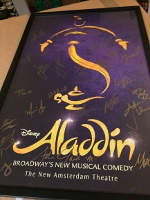 Aladdin The Musical (James Iglehart, Genie, at the top!)