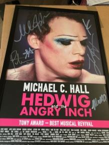 Michael C. Hall as Hedwig