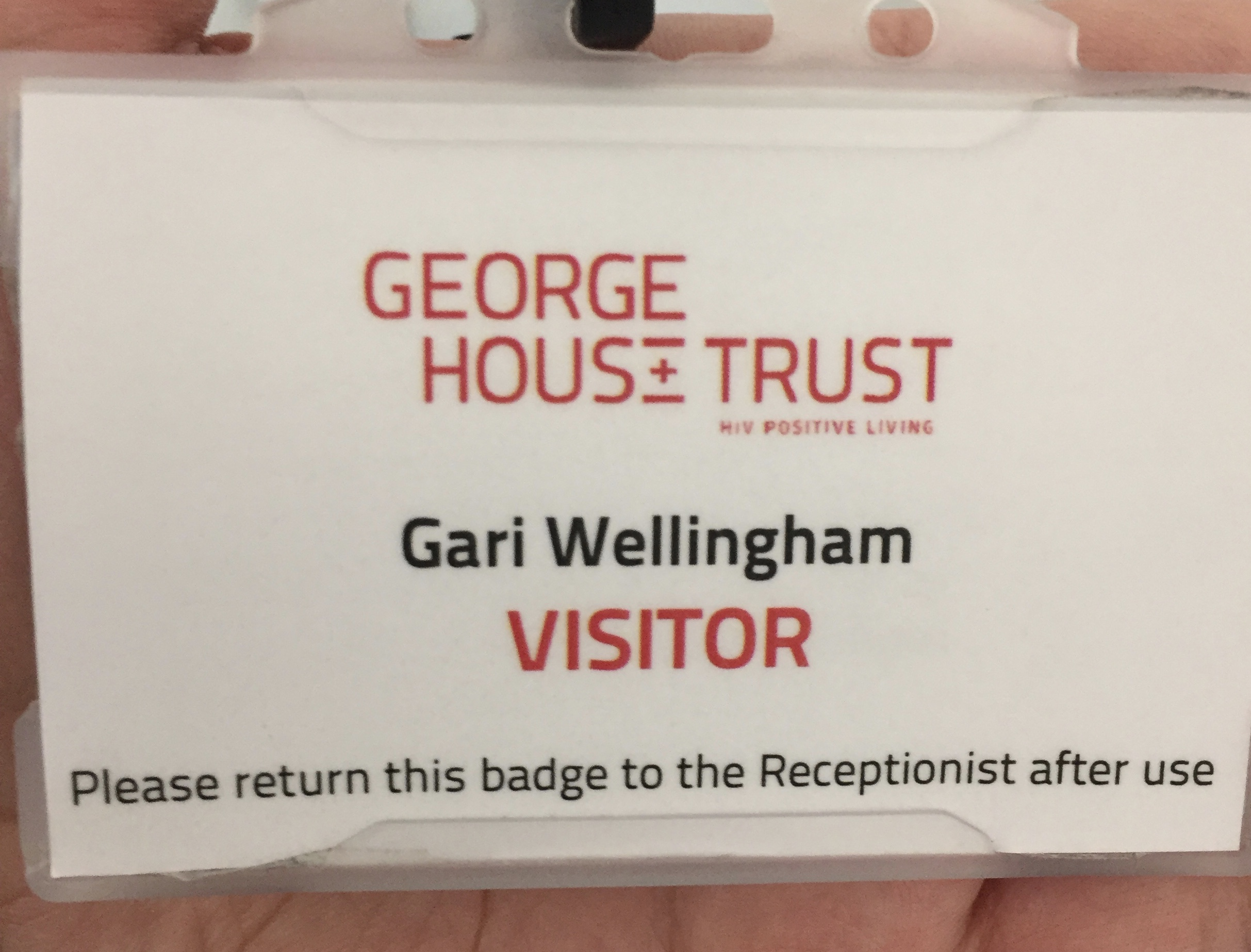 Spending a day with George House Trust