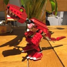 LEGO Dinosaur - my first!