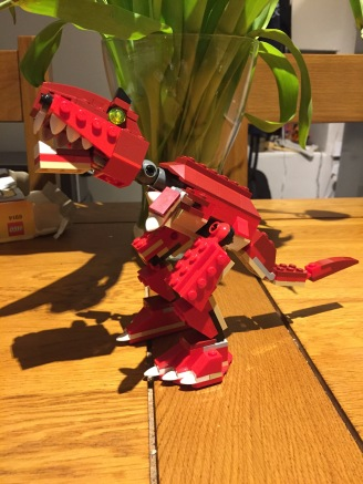 LEGO Dinosaur - my first!